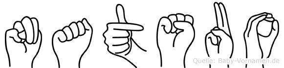 Natsuo in Fingersprache für Gehörlose