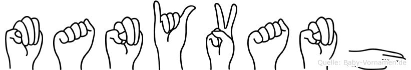 Manyvanh in Fingersprache für Gehörlose