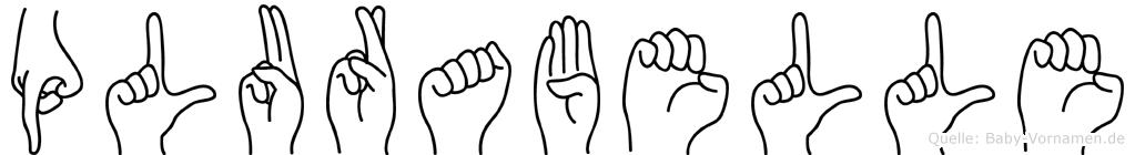 Plurabelle in Fingersprache für Gehörlose