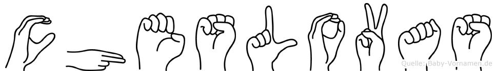 Cheslovas in Fingersprache f�r Geh�rlose