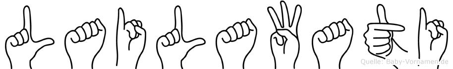 Lailawati in Fingersprache für Gehörlose