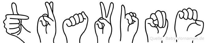Travine in Fingersprache für Gehörlose