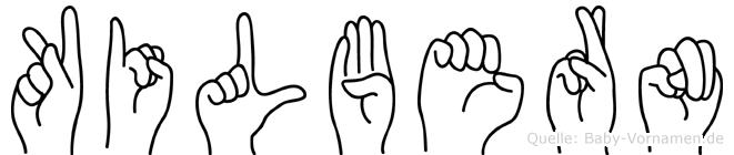Kilbern in Fingersprache für Gehörlose