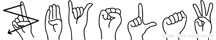 Zbyslaw in Fingersprache für Gehörlose