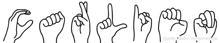 Carlien in Fingersprache für Gehörlose