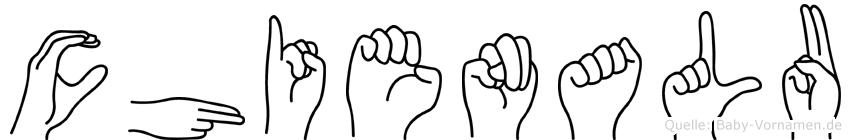 Chienalu in Fingersprache für Gehörlose