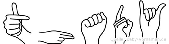 Thady in Fingersprache f�r Geh�rlose