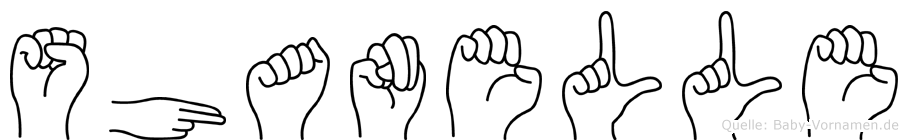 Shanelle in Fingersprache für Gehörlose