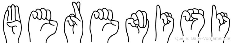 Berenisi in Fingersprache für Gehörlose
