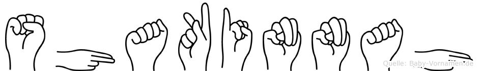 Shakinnah in Fingersprache für Gehörlose