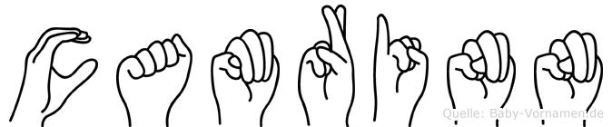 Camrinn im Fingeralphabet der Deutschen Gebärdensprache