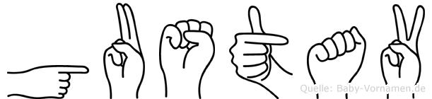 Gustav in Fingersprache für Gehörlose