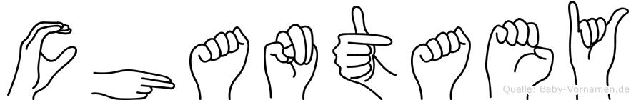 Chantaey in Fingersprache für Gehörlose