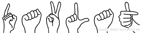 Davlat in Fingersprache für Gehörlose