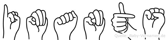Imants in Fingersprache für Gehörlose