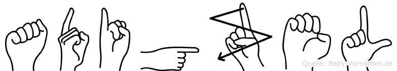 Adigüzel in Fingersprache für Gehörlose