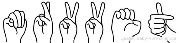Mürüvvet im Fingeralphabet der Deutschen Gebärdensprache