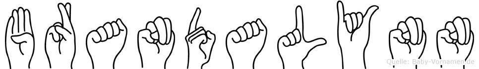 Brandalynn in Fingersprache für Gehörlose