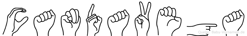Candavega in Fingersprache für Gehörlose