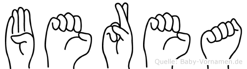 Berea in Fingersprache für Gehörlose