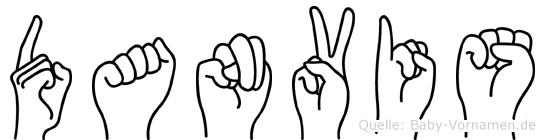 Danvis in Fingersprache für Gehörlose