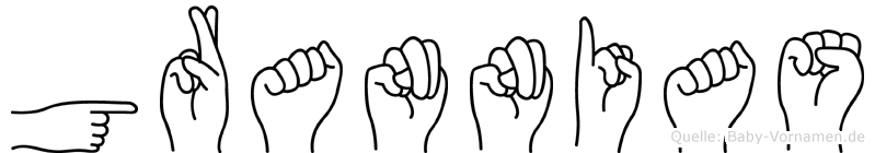 Grannias in Fingersprache für Gehörlose