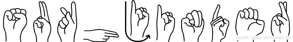 Sukhjinder im Fingeralphabet der Deutschen Gebärdensprache