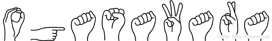 Ogasawara in Fingersprache für Gehörlose