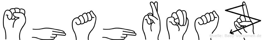 Shahrnaz in Fingersprache für Gehörlose