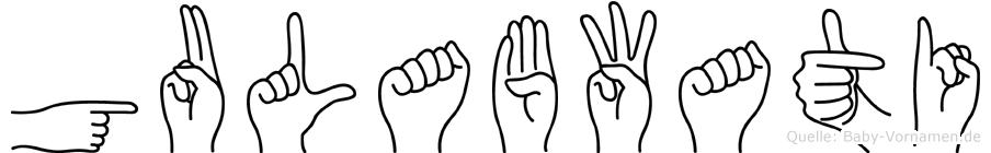 Gulabwati in Fingersprache für Gehörlose
