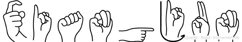 Xiangjun in Fingersprache für Gehörlose
