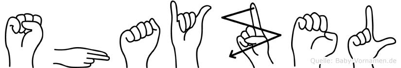 Shayzel in Fingersprache für Gehörlose