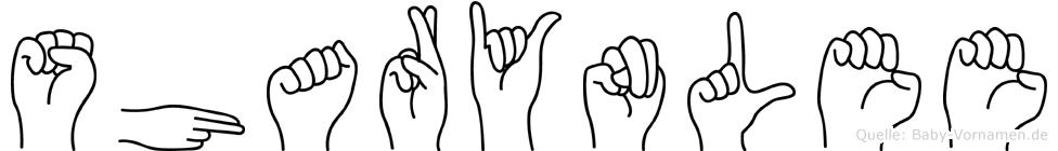 Sharynlee in Fingersprache für Gehörlose