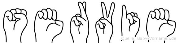 Servie in Fingersprache für Gehörlose