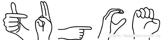 Tugce in Fingersprache für Gehörlose