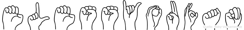 Elessyoufan in Fingersprache für Gehörlose