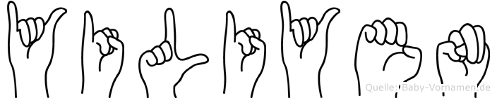 Yiliyen in Fingersprache für Gehörlose