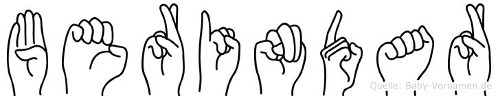 Berindar in Fingersprache für Gehörlose