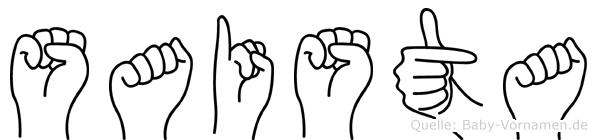 Saista in Fingersprache f�r Geh�rlose