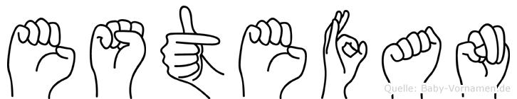 Estefan in Fingersprache für Gehörlose