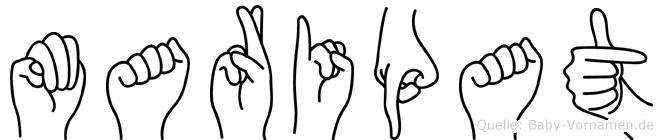 Maripat in Fingersprache für Gehörlose