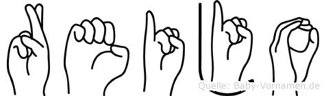 Reijo in Fingersprache für Gehörlose