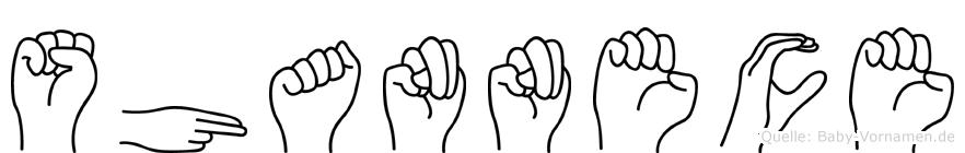 Shannece in Fingersprache für Gehörlose