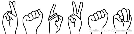 Radvan in Fingersprache für Gehörlose