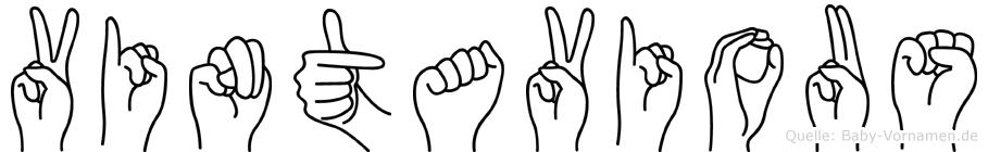 Vintavious in Fingersprache für Gehörlose
