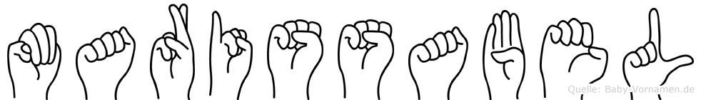 Marissabel in Fingersprache für Gehörlose