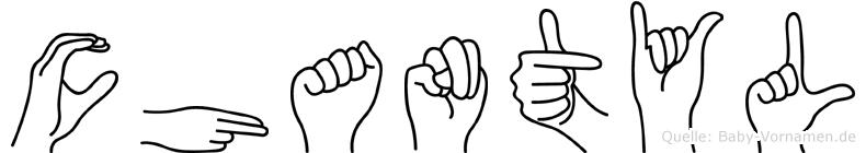 Chantyl in Fingersprache für Gehörlose