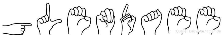 Glendaee in Fingersprache für Gehörlose