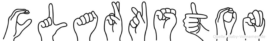 Clarkston in Fingersprache für Gehörlose