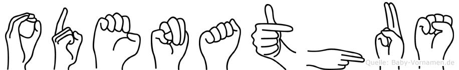 Odenathus in Fingersprache für Gehörlose